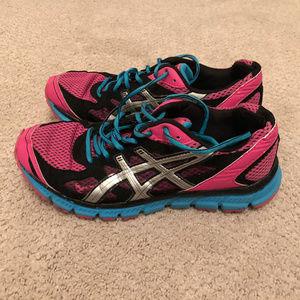 Asics Gel Scram Sz 9.5 Pink Running Hiking Shoes